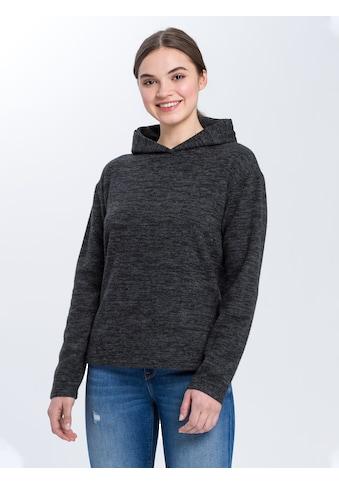 Cross Jeans® Hoodie »65247«, Hoody in Feinstrick-Qualität kaufen