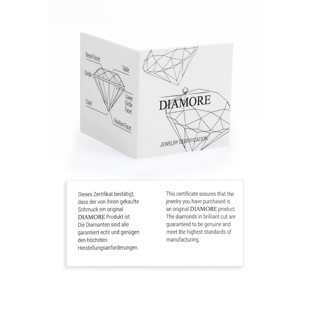 Diamore Armband »Infinity Ewig Diamant (0.03 ct.) 925 Silber«