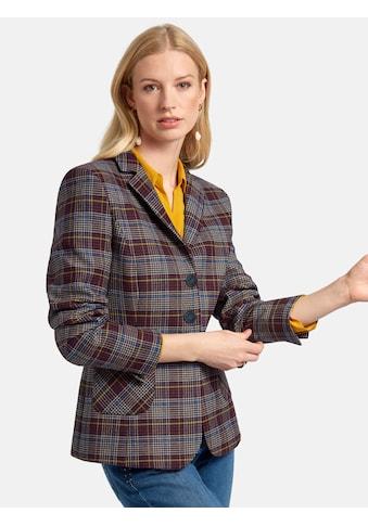 Basler Jackenblazer, mit Glencheck-Muster und Wollanteil kaufen