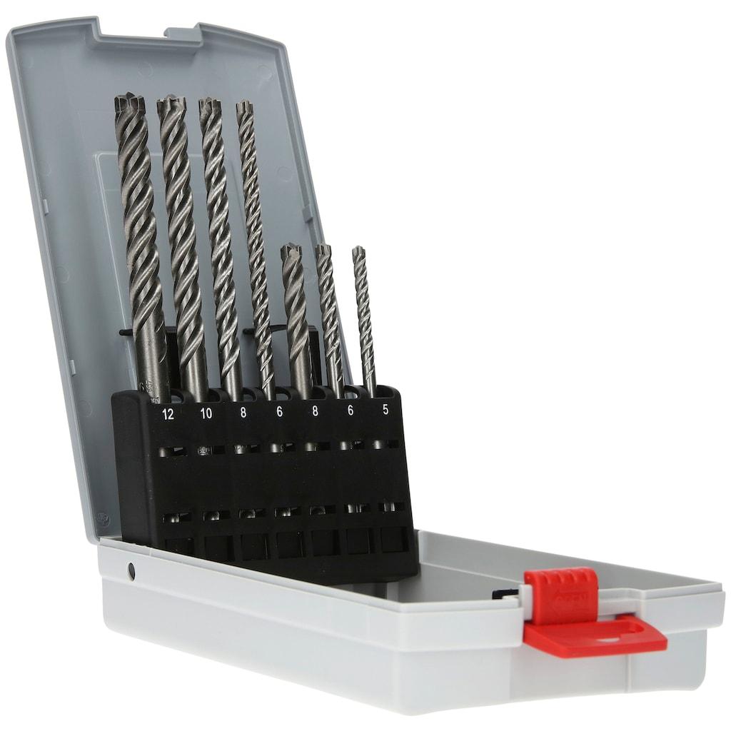 Bosch Professional Hammerbohrer »SDS plus-7X«, (Set, 7 tlg.)