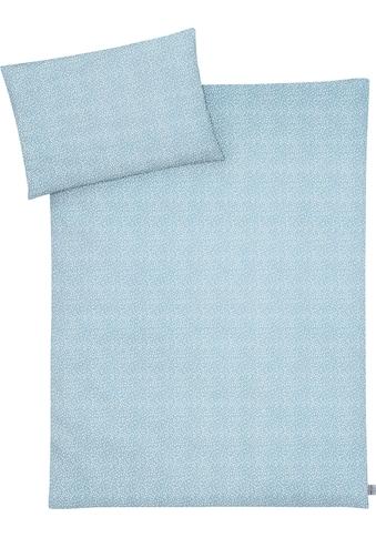 Julius Zöllner Kinderbettwäsche »Tiny Squares Grey«, mit Muster kaufen