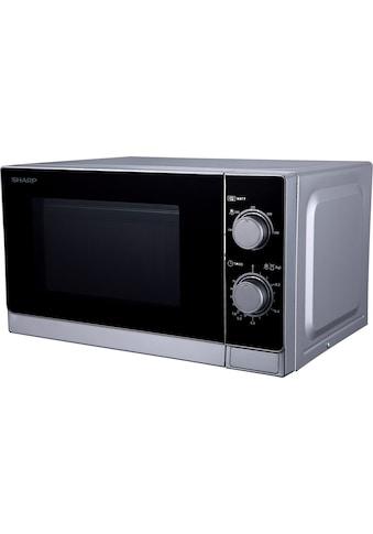 Sharp Mikrowelle »R200INW«, Mikrowelle, 800 W kaufen