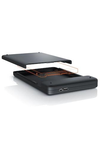 """Aplic externes USB 3.0 Festplatten Case mit schraubenloser Montage »für 2,5"""" HDD/SDD Festplatten« kaufen"""
