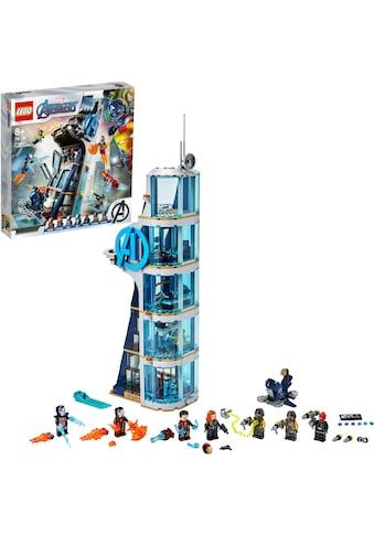 "LEGO® Konstruktionsspielsteine ""Avengers – Kräftemessen am Turm (76166), LEGO® Marvel Avengers Movie 4"", Kunststoff, (685 - tlg.) kaufen"