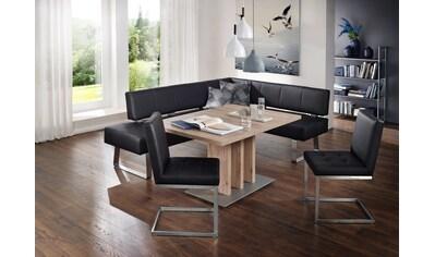 K+W Komfort & Wohnen Eckbankgruppe »Spider II«, (Set, 4 St.), Eckbankgruppe, wahlweise... kaufen