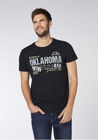 Oklahoma Jeans T-Shirt »Men, T-Shirt, Regular Fit« kaufen