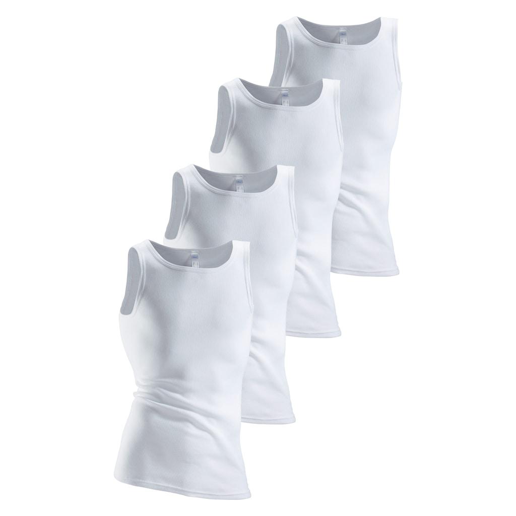 Clipper Unterhemd, aus Doppelripp
