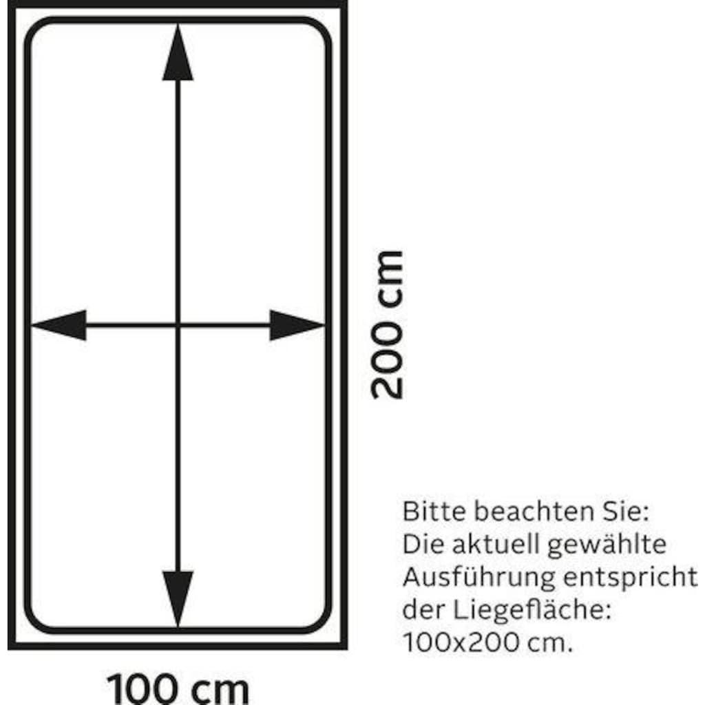 Maintal Polsterliege, mit Seiten- und Rückenteil