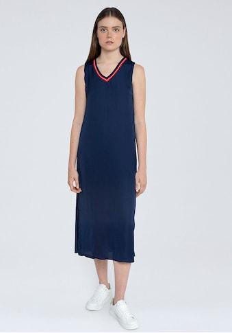 Pepe Jeans Sommerkleid »IDARA«, in schlichtem Design mit kontrastfarbenen Details kaufen