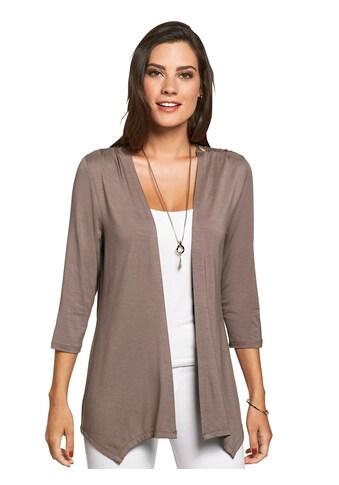 Lady Shirtjacke in modisch verschlussloser Form kaufen