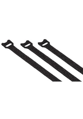 Hama Kabelbinder, 10 x 125 mm, Schwarz, 20 Stück kaufen