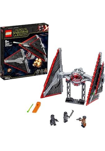 """LEGO® Konstruktionsspielsteine """"Sith TIE Fighter™ (75272), LEGO® Star Wars™"""", Kunststoff, (470 - tlg.) kaufen"""