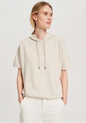 OPUS Kapuzensweatshirt »Gulvas«, mit überschnittenen Ärmeln kaufen