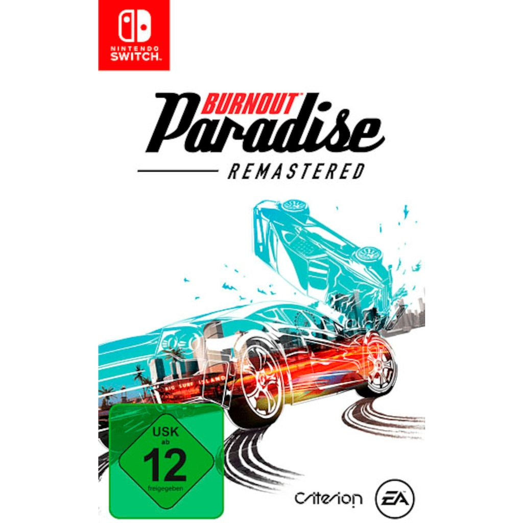Electronic Arts Spiel »Burnout Paradise Remastered«, Nintendo Switch