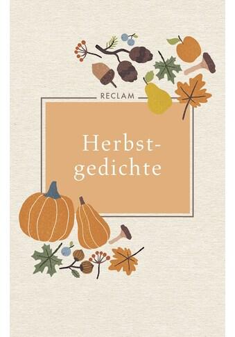 Buch »Herbstgedichte / Evelyne Polt-Heinzl, Christine Schmidjell« kaufen