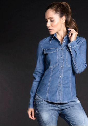 Please Jeans Jeansbluse »C 0HG« kaufen