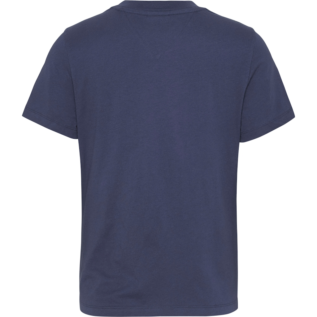 Tommy Jeans Rundhalsshirt »TJW REGULAR JERSEY C NECK«, mitTommy Jeans Logo-Flag auf der Brust