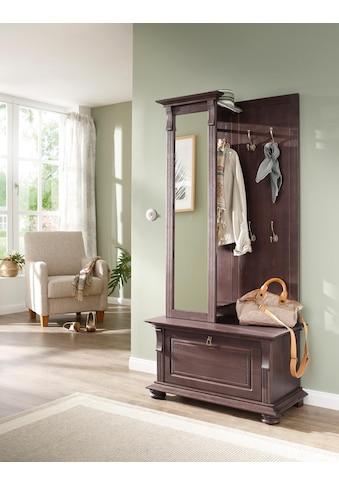 Home affaire Garderoben-Set »Mitu«, (Set, 2 St.), aus massiver Kiefer (2-tlg.) kaufen