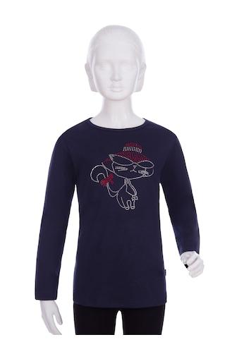 Trigema Langarmshirt, mit Motiv aus Strass-Steinen kaufen