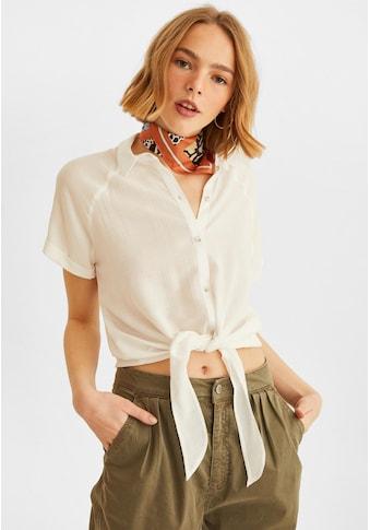 OXXO Hemdbluse, mit Bindedetail kaufen