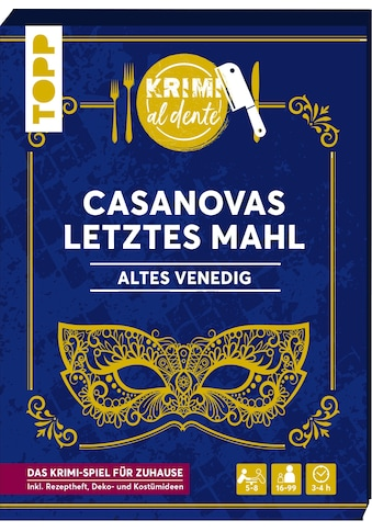 Buch »Krimi al dente - Altes Venedig - Casanovas letztes Mahl / Illina Grünwald, Sara... kaufen