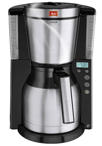 Melitta Filterkaffeemaschine »Look Therm Timer 1011-16«, Papierfilter, 1x4, mit... kaufen
