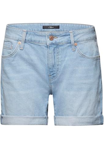 Mavi Jeansshorts »PIXIE«, mit Aufschlag am Saumabschluss kaufen
