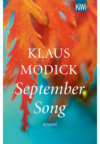Buch »September Song / Klaus Modick« kaufen