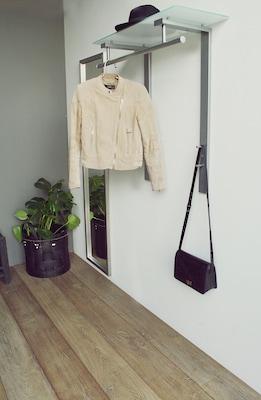 moderne Garderobenleiste