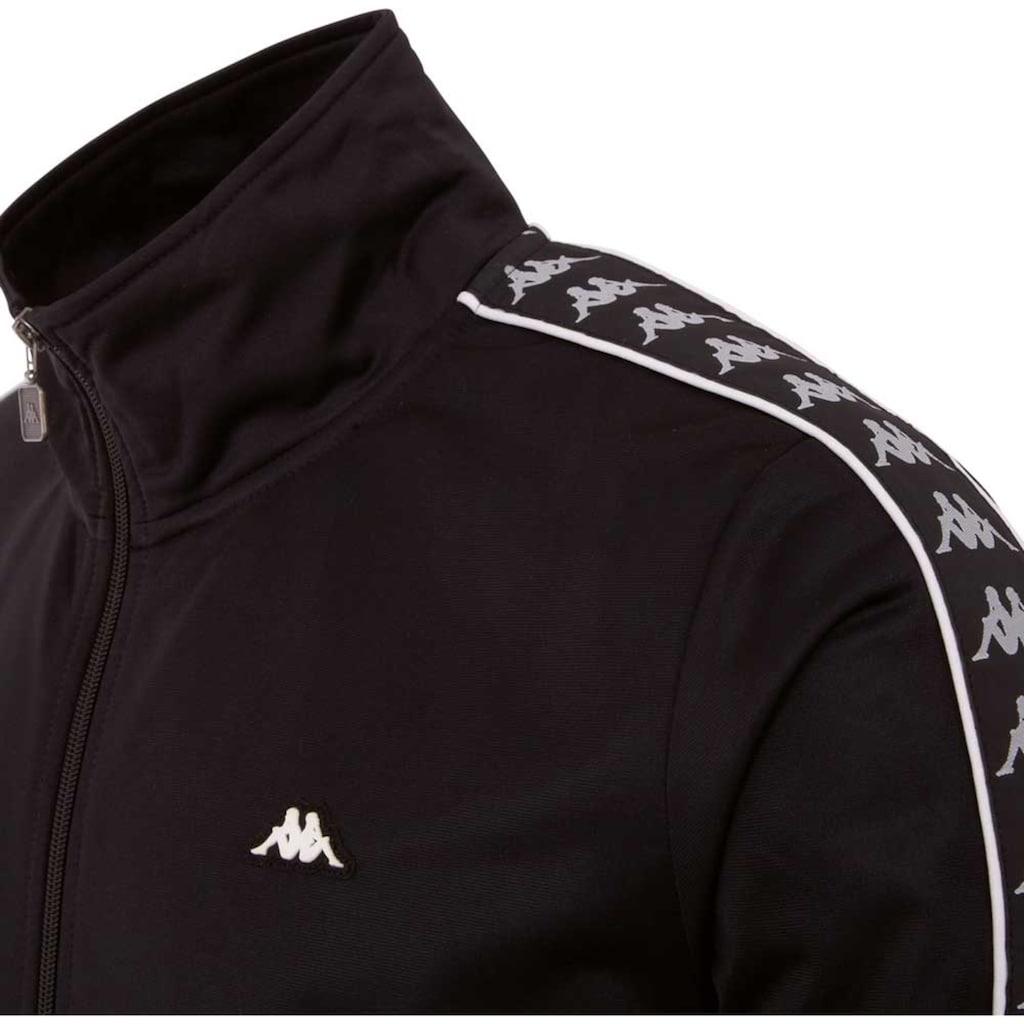 Kappa Trainingsjacke »AUTHENTIC HEKTOR«, mit Logowebband an den &Auml;rmeln<br />