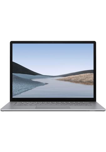 "Microsoft Surface Laptop 3 15"" – 8GB / 128GB Ryzen™ 5 Platin Grau Notebook (38 cm / 15 Zoll, AMD,Ryzen 5, 128 GB SSD) kaufen"