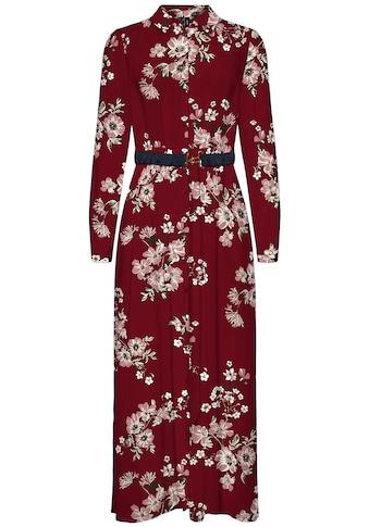 Vero Moda Hemdblusenkleid »VMROMA BELT L/S ANCLE DRESS« kaufen