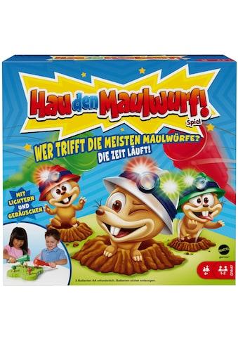 Mattel games Spiel »Hau den Maulwurf!«, mit Licht- und Soundfunktion kaufen