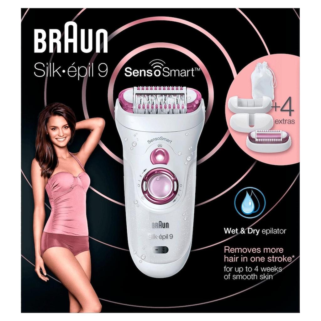 Braun Epilierer »Silk-épil 9 9/700 SensoSmart«, 3 St. Aufsätze