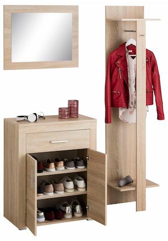 Wilmes Garderoben-Set »Lake«, (Set, 3 tlg.), mit Stauraum für ca. 15 Paar Schuhe kaufen