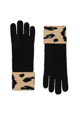 Codello Strickhandschuhe, mit Leo-Bündchen kaufen