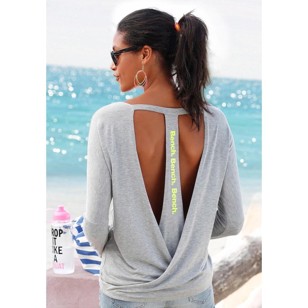 Bench. Strandshirt, mit tiefem Rückenausschnitt