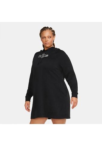 Nike Sportswear Sweatkleid »WOMEN DRESS FLEECE VERSITY PLUS SIZE« kaufen
