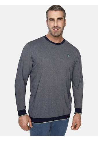 Charles Colby Sweatshirt »EARL KEARNEY«, aus zweifarbigem Strick kaufen