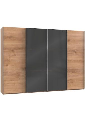 Fresh To Go Schwebetürenschrank »Level«, mit Glastüren und Synchronöffnung kaufen