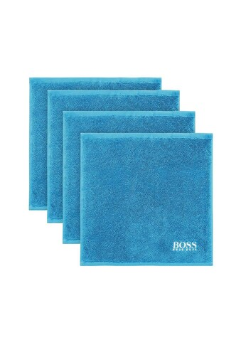 Hugo Boss Home Waschlappen »PLAIN 4-tlg.«, (4 tlg.) kaufen