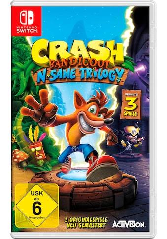 Activision Spiel »Crash Bandicoot N. Sane Triology«, Nintendo Switch kaufen