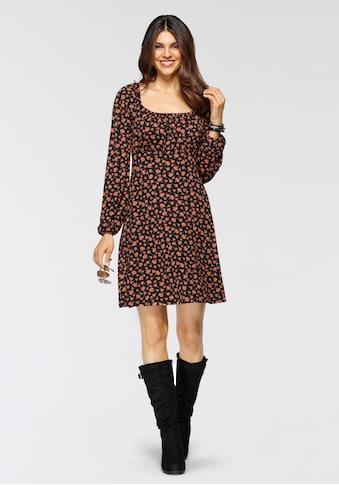 Boysen's Jerseykleid, mit eckigem Ausschnitt kaufen