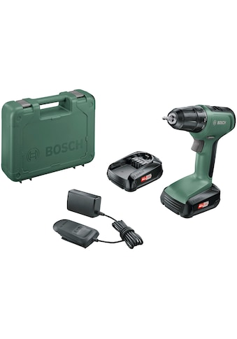 BOSCH Akku-Bohrschrauber »UniversalDrill 18«, inkl. 2 Akkus und Koffer kaufen