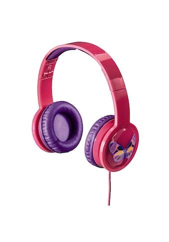 Hama Kinderkopfhörer , Over - Ear, Lautstärkebegrenzung »Blink'n Kids, Pink« kaufen