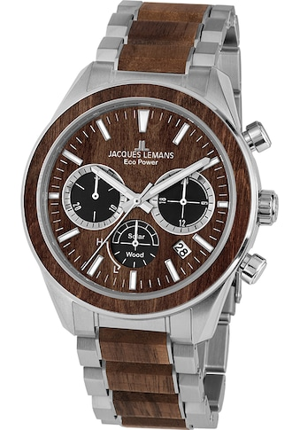 Jacques Lemans Chronograph »Eco Power Solar Wood, 1-2115J« kaufen