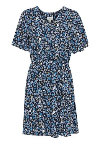 b.young Druckkleid »BYMMJOELLA DRESS«, Kurzes Kleid mit V-Ausschnitt kaufen