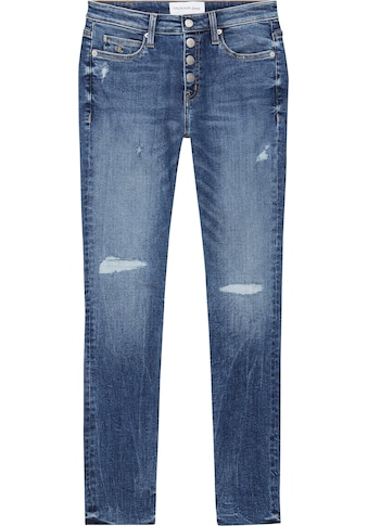 Calvin Klein Jeans Skinny - fit - Jeans »CKJ 011 MID RISE SKINNY ANKLE« kaufen