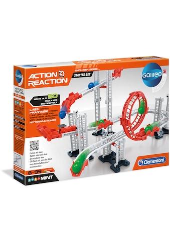 Clementoni® Kugelbahn-Bausatz »Galileo - Action & Reaction - Starter Set«, Made in Europe kaufen
