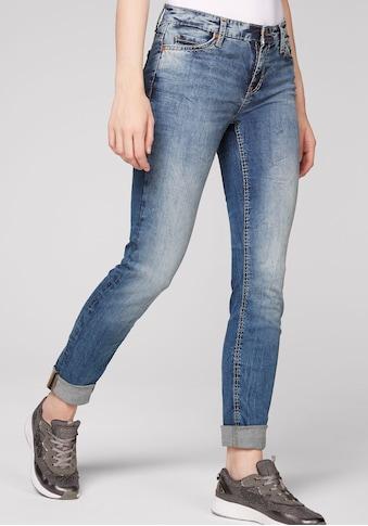 SOCCX Skinny-fit-Jeans, in aufwendiger Waschung kaufen